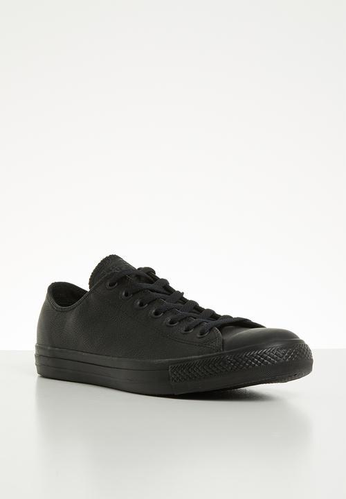 9d24f77ef128ac CHUCK TAYLOR ALL STAR - OX - 135253C - BLACK MONO Converse Sneakers ...