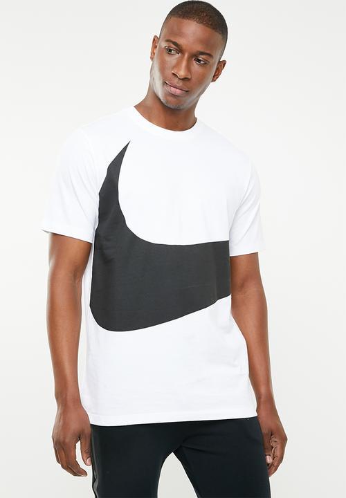 c63ce9ef Nsw swoosh short sleeve tee - white/black Nike T-Shirts ...