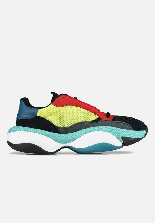ad7f61ecb22 Alteration kurve - 36979402 - Puma black-limelight PUMA Sneakers ...