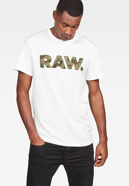 6635ce3c6ecc Graphic 53 T-shirt - white G-Star RAW T-Shirts & Vests | Superbalist.com