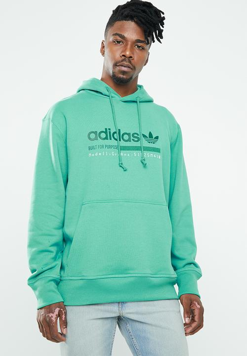 Grp Oth Hoodie   Green by Adidas Originals