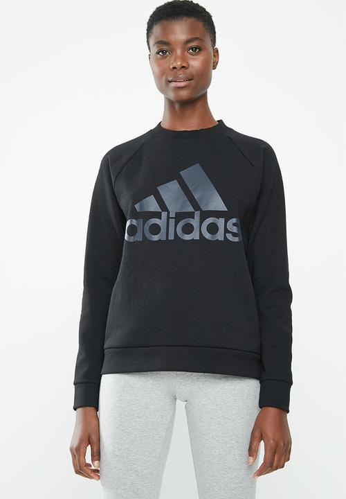 e1e9d3878969e5 Glory crew neck sweater - black adidas Originals Hoodies, Sweats ...