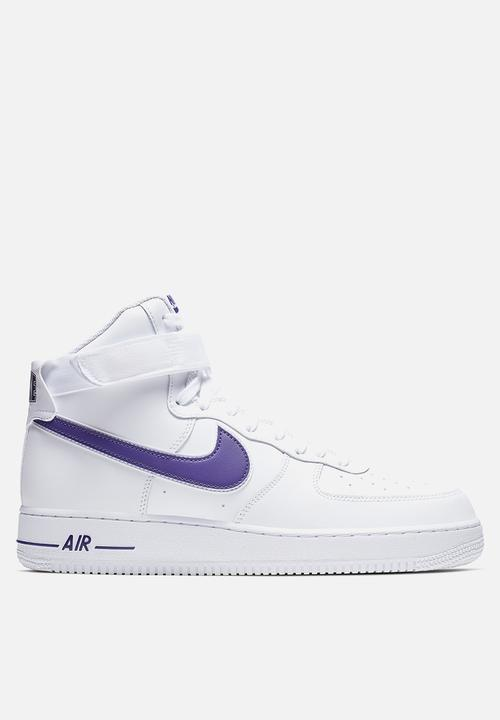 hot sale online 804cb 0a170 Air Force 1 High '07 3 - white/white-court purple