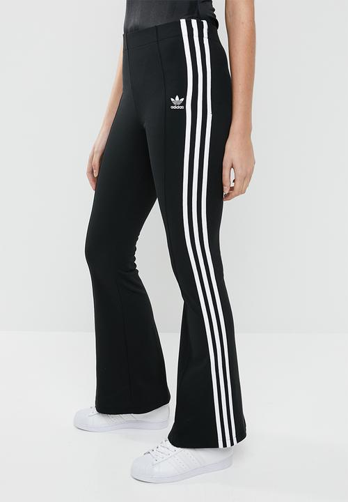 enjoy bottom price new specials hot new products Flared track pants - black