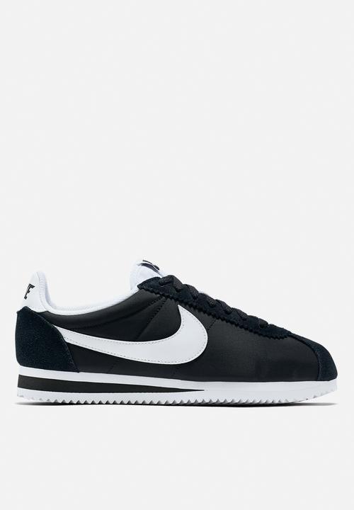 fc1758a604fde Source · Women s Nike Classic Cortez Nylon Shoe 749864 011 black white