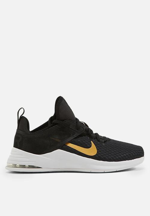 fefe160eb9 Nike Air Max Bella TR 2 - black / metallic gold / gunsmoke / vast ...