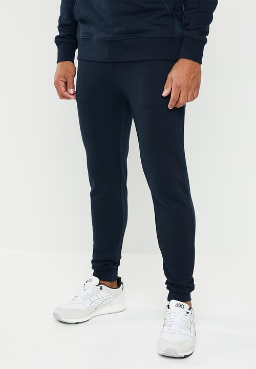 Skinny Sweat Jogger   Navy by Superbalist
