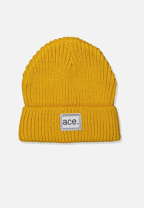 9d0ca82c120e7e Winter knit beanie - golden rib Cotton On Accessories   Superbalist.com