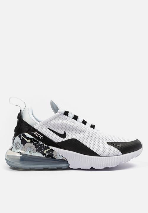 sports shoes 408a4 5ec1b Nike Air Max 270 SE - White / Black / Metallic Silver
