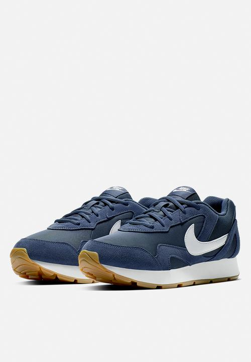 36ae50f40ab Nike Delfine - monsoon blue / white - gum light brown Nike Sneakers ...