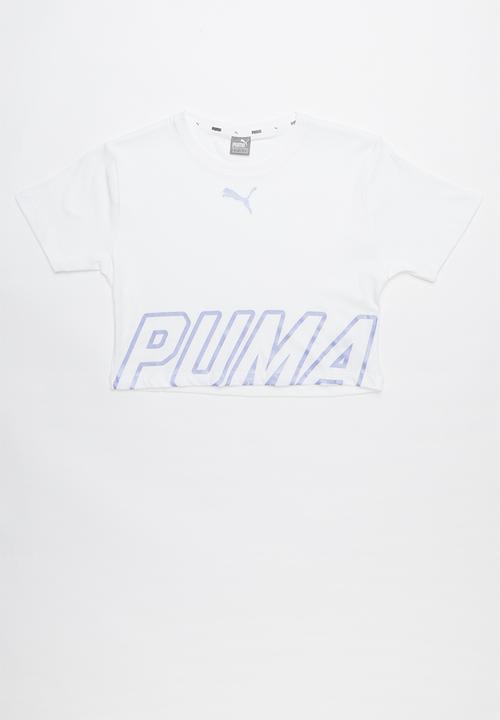 07b8b8bf Alpha logo tee 2 g - white PUMA Tops   Superbalist.com
