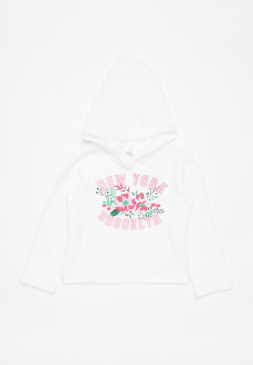 8182c3cb1 New York Brooklyn printed hoodie - white POP CANDY Jackets ...
