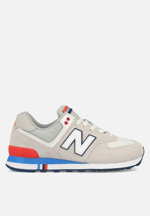 Sneakers Red 574 Ml574ncr Blue Grey New Balance Classic 8OPknw0