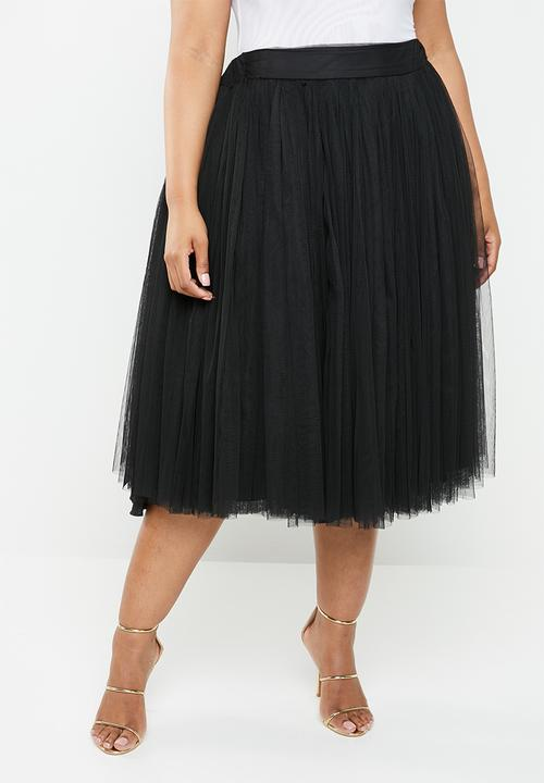 20c2198793 Short tulle skirt - black Plus-Fab Bottoms & Skirts   Superbalist.com