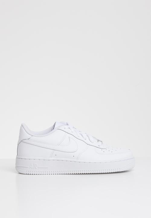 Boys' Nike Air force 1 (gs) shoe -white