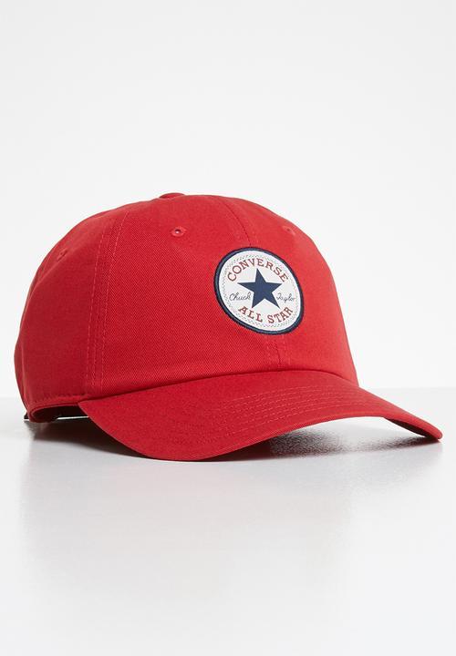 6a4b683ac Tipoff Chuck baseball cap - red