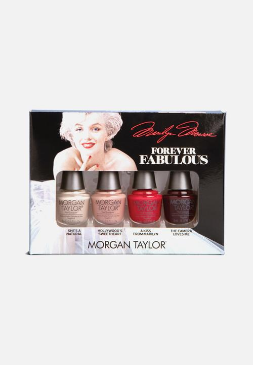 Forever Fabulous Classic Nail Lacquer Mini 4 Pack Ltd Edition by Morgan Taylor