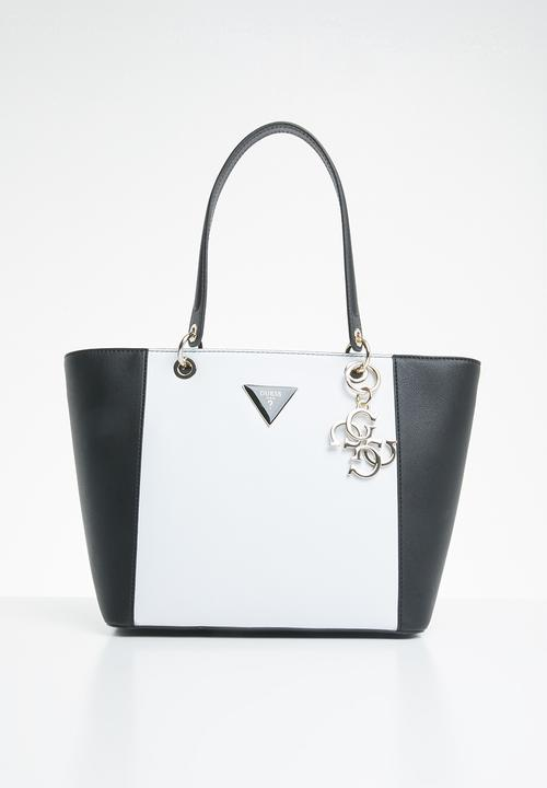f26fb0886 Kamryn tote - black/white GUESS Bags & Purses | Superbalist.com