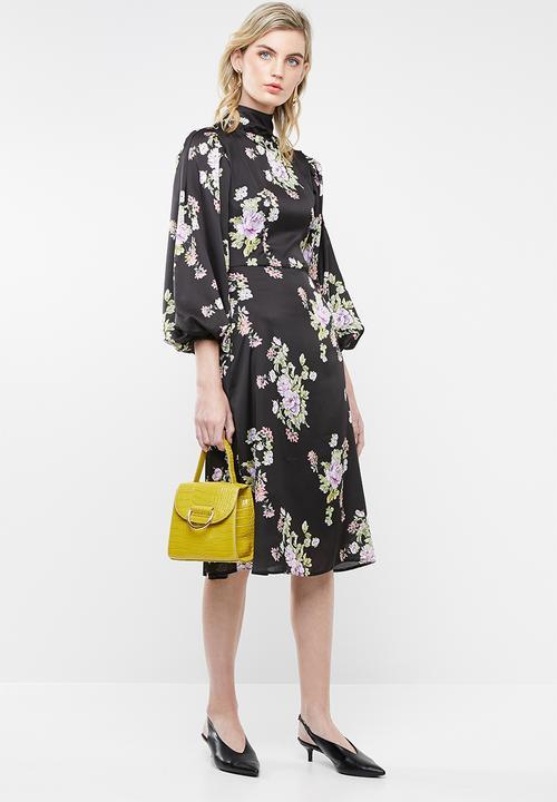 ff7aaf0eb6 Drape sleeve midi dress - Print Superbalist Formal | Superbalist.com