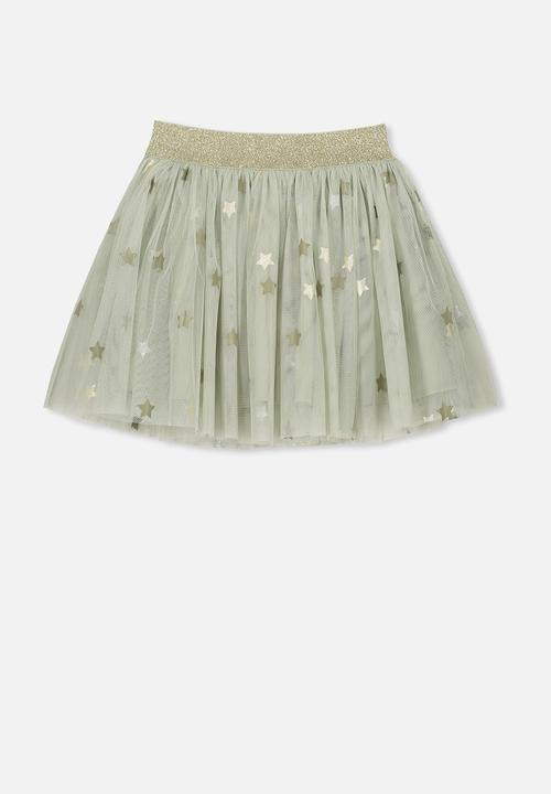 d7e821ce994c Trixiebelle tulle skirt - desert sage stars Cotton On Dresses ...