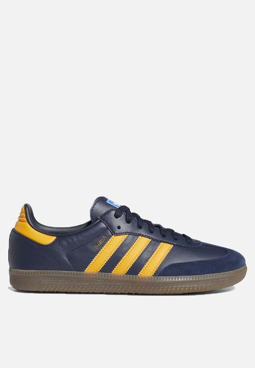 a2655bef4 adidas Originals Samba - EE5414 - collegiate navy/ gold / ftwr white ...