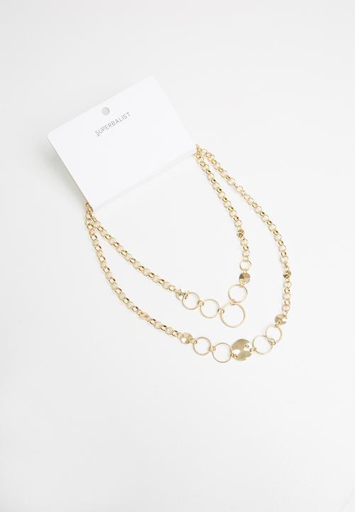 Jen Multichain Necklace   Gold by Superbalist
