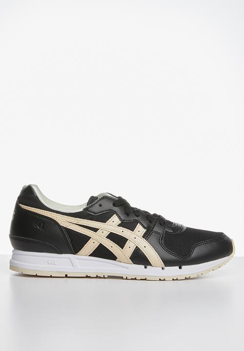 Black/Seashell Asics Tiger Sneakers