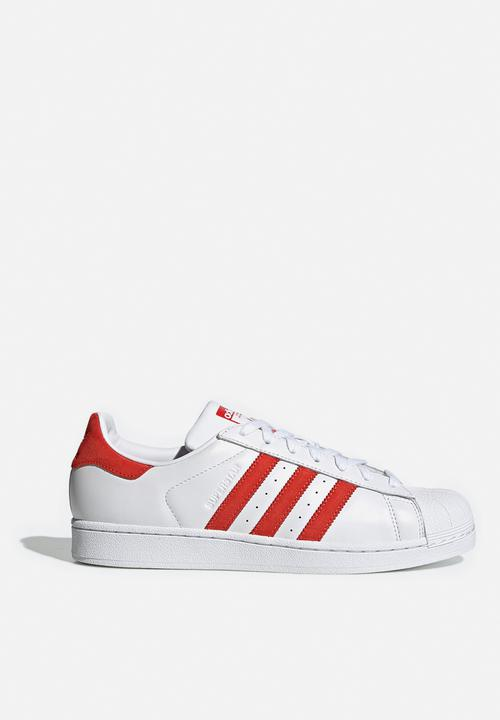 adidas superstar metallic red