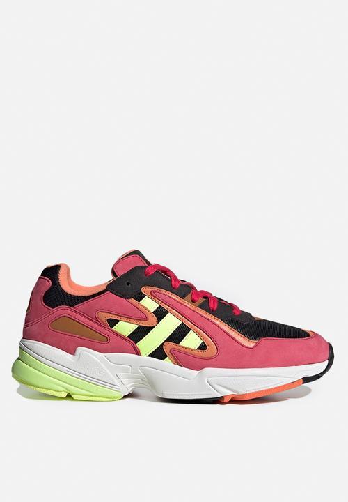core black/hi-res yellow/energy pink