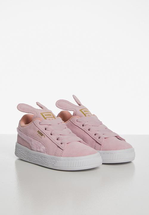 nouveau concept 9060c 8bdff Suede easter ac infant - pink