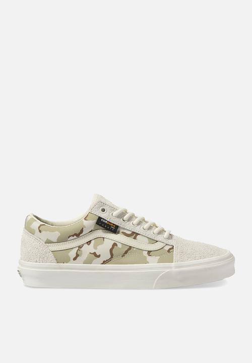 Old Skool   (Cordura) White Asparagus/Camo by Vans