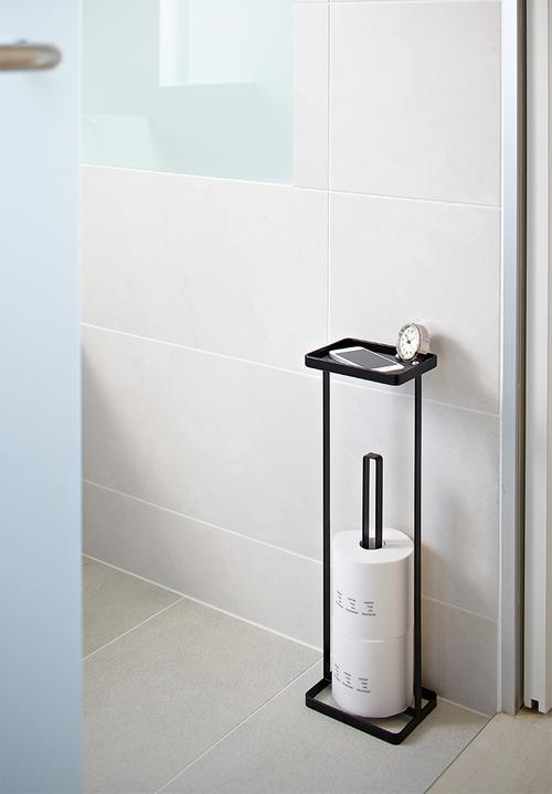 Tower Toilet Paper Stand With Tray
