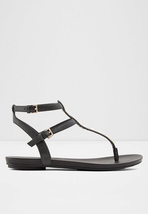 001 black ALDO Sandals \u0026 Flip Flops