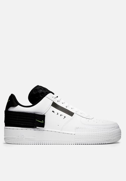 Air Force 1 Type   White / Volt Black White by Nike