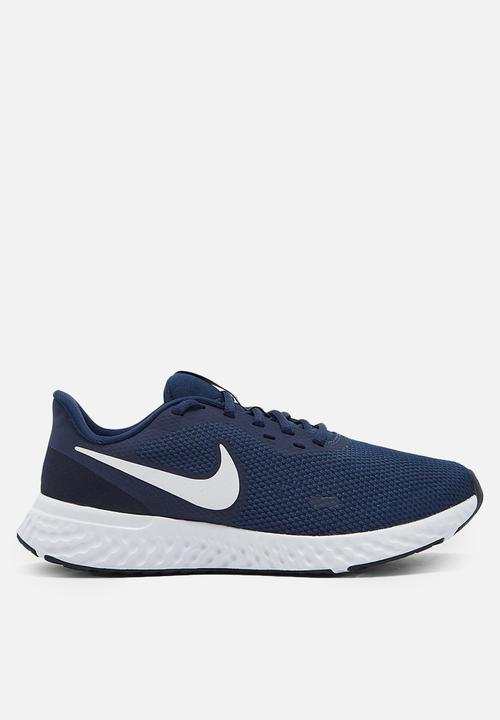 Revolution 5   Midnight Navy/White Dark Obsidian by Nike