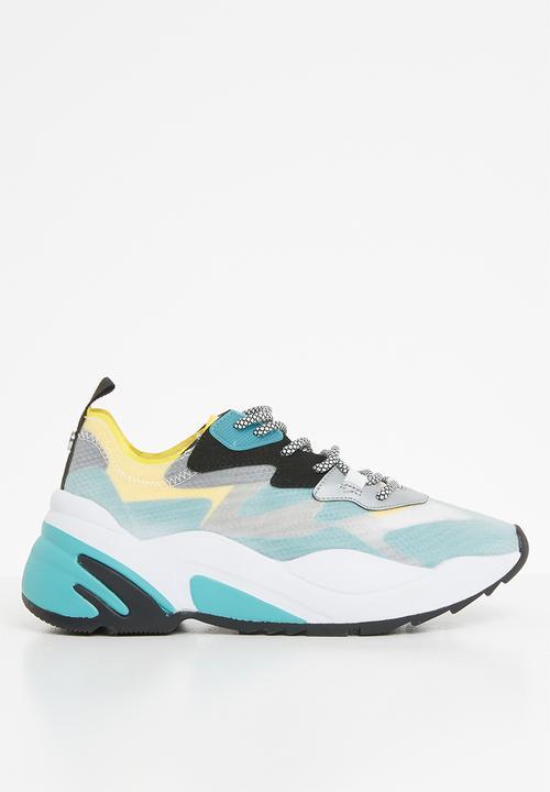 Charged sneaker - blue multi Steve