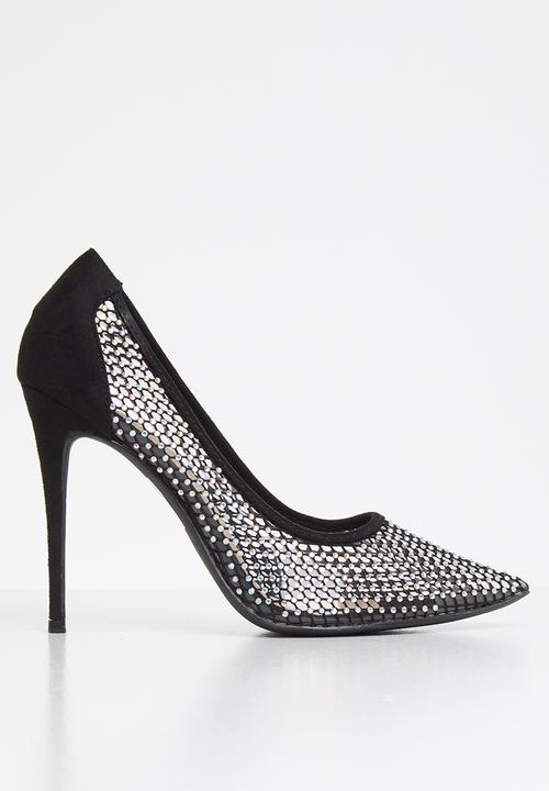 One night stand bling court - black