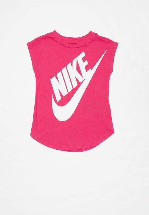 Intrusión norte Persona a cargo  Nkg girls jumbo futura short sleeve tee - rush pink Nike Tops |  Superbalist.com