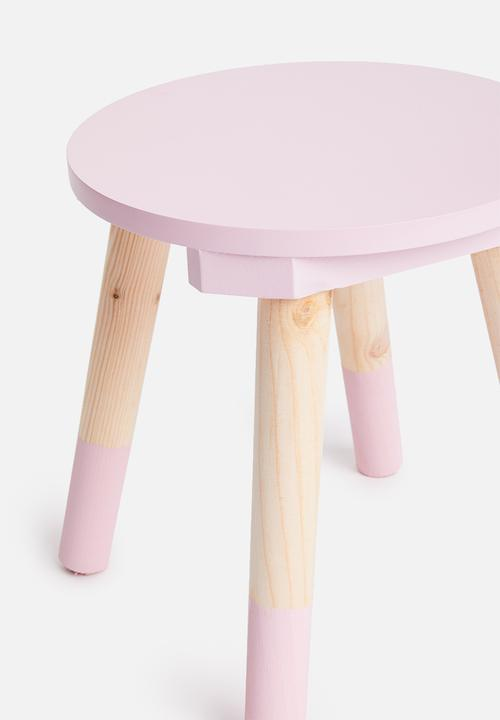 H&S - Playful stool - pink