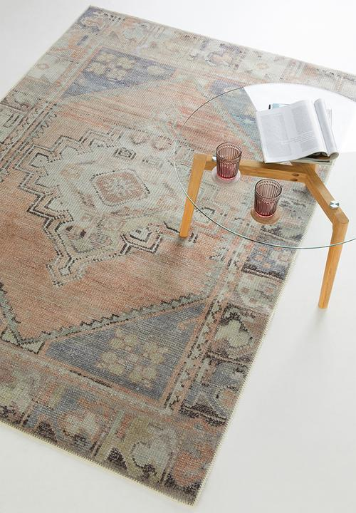 Hertex Fabrics - Eliza rose quarts rug - multi