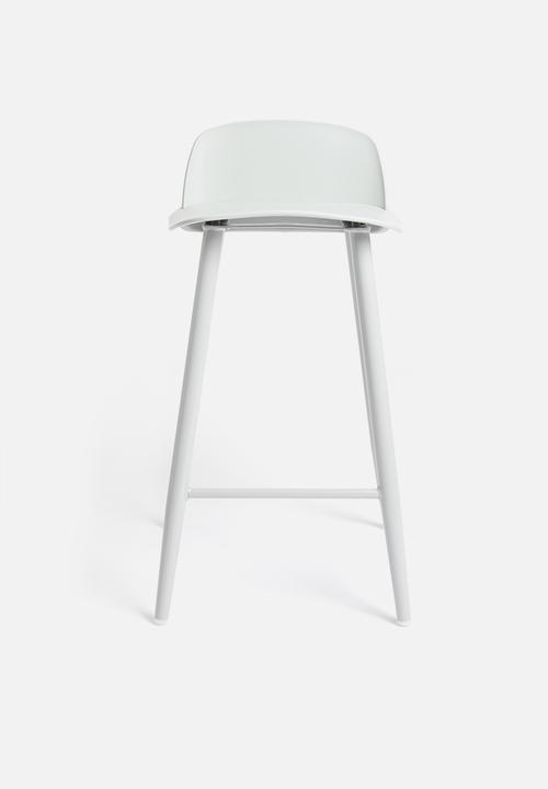 Sixth Floor - Felix kitchen stool - light grey