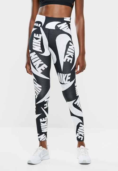 Nsw Icon Clash Leggings Black White Nike Bottoms Superbalist Com