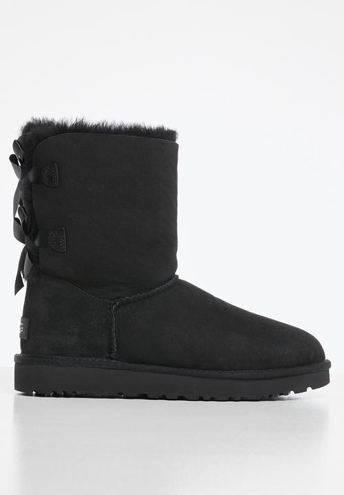 Bailey bow short - black UGG® Boots