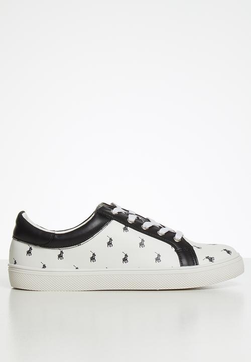 Valerie monogram sneaker - white POLO