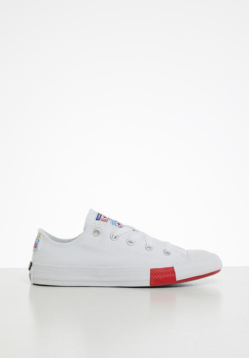 Chuck Taylor All Star Logo Play White Converse Shoes Superbalist Com