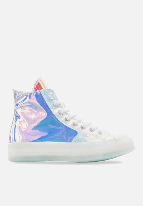 Chuck 70 Jewel hi - white/iridescent