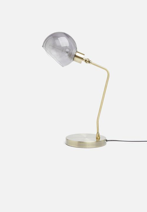 Sixth Floor - Cassie table desk lamp - gold