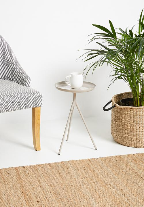 Sixth Floor - Sam tri side table - natural