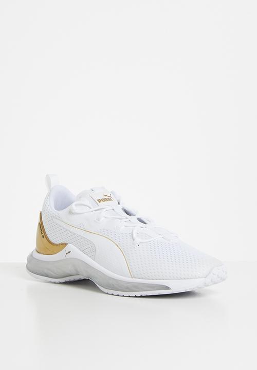 puma white-metallic gold-puma silver