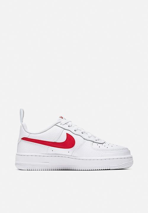 Nike air force 1 gs - white/unvred Nike